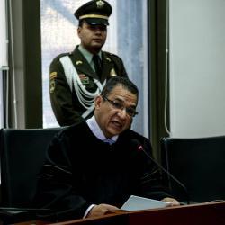 El magistrado Gustavo Malo es señalado de recibir dineros de parte de Musa Besaile.