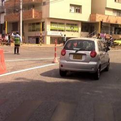 Así arrancaron los nuevos cambios viales en Bucaramanga