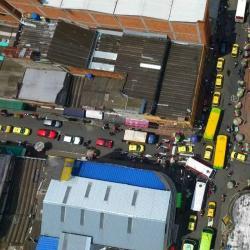Así se ven las vías más invadidas del Centro de Bucaramanga, desde otra perspectiva