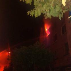 Incendio consumió un apartamento en Floridablanca