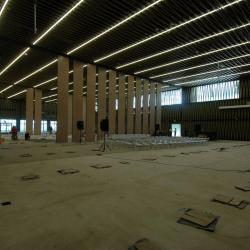 Al 'Gran Salón' del Centro de Convenciones de Bucaramanga le falta 8% para terminarse