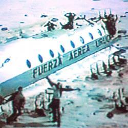 El accidente de avión en los Andes dejó 29 muertos y 16 sobrevivientes.