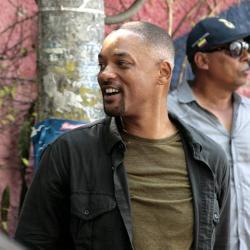 El actor norteamericano se encuentra en Cartagena grabando la película 'Gemini Man'.