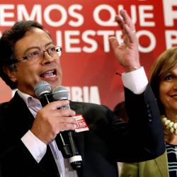 Gustavo Petro, el candidato de izquierda para la Presidencia