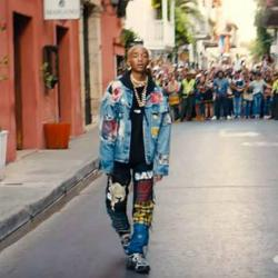 Se estrenó el video que Jaden Smith grabó junto a Nicky Jam en Cartagena