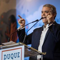 """Duque no enviará embajador a Venezuela por Gobierno """"ilegítimo"""" de Maduro"""