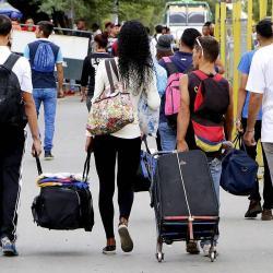 Si son reconocidos como refugiados, las ONG internacionales podrían destinar recursos a Colombia.