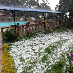 Fuerte granizada arrasó con cultivos en Santander