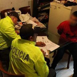 Redada contra el microtráfico en Girón dejó nueve personas capturadas