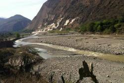Así luce el río Chicamocha y otros afluentes por el fenómeno de El Niño en Santander
