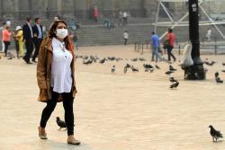 Vea cómo el humo paralizó varias entidades en el centro de Bogotá