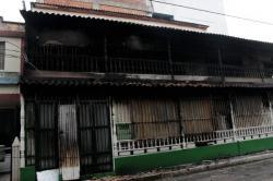 Imágenes del supermercado en Girón luego del incendio registrado este domingo