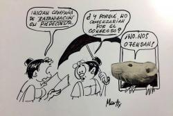 Las caricaturas de Matty que aún describen la realidad de Santander