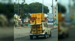 Nuevas imprudencias sobre ruedas en Bucaramanga