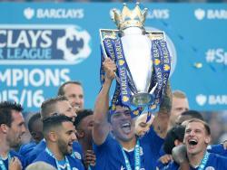 Así celebró el Leicester City su triunfo como campeón de la Premier League