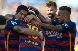 Las mejores imágenes del título de Barcelona en la Liga de España