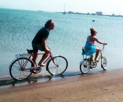 Primeras imágenes de Shakira en el rodaje de 'La Bicicleta' en Barranquilla