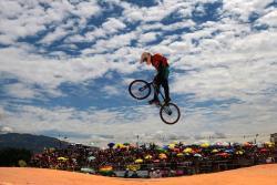 Así se vive el Mundial de BMX en Medellín