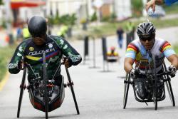 Santander es tercero en los Nacionales de Paracycling