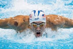 Esta es la causa de los llamativos moretones en la espalda de Michael Phelps