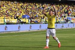 Las mejores imágenes del triunfo de Colombia