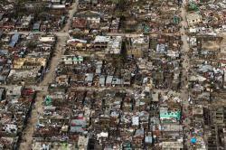 Imágenes del devastador paso del huracán Matthew que dejó más 800 muertos en Haití