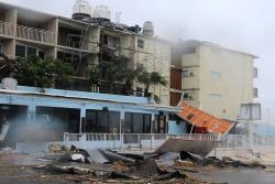 Imágenes de los desastres que ha dejado el huracán Matthew en Florida
