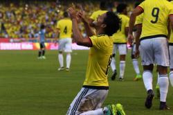Las mejores imágenes del empate entre Colombia y Uruguay