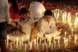 Vea las mejores imágenes de la marcha por la paz en Bucaramanga