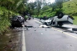 Una persona murió en accidente vía al Playón, en Santander