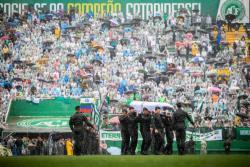 Chapecó despidió con emoción a los futbolistas que le enseñaron a soñar en grande