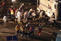 Imágenes de los atentados terroristas en Turquía que dejaron 20 heridos