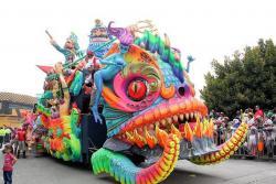 Imágenes del majestuoso desfile en el Carnaval de Pasto