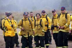 Conozca a los voluntarios colombianos que ayudan a apagar los incendios en Chile