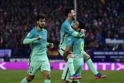 Las mejores imágenes de la victoria 2-1 del Barcelona sobre el Atlético de Madrid