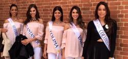 Candidatas al Concurso Nacional de Belleza 2017