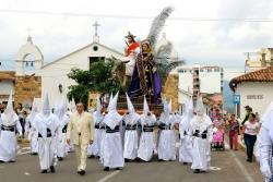 Imágenes de la conmemoración del Domingo de Ramos en Bucaramanga