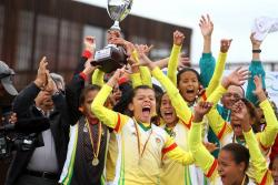 Las mejores imágenes del título de Santander en el Nacional Infantil de fútbol