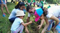 En la jornada que se realizó este sábado, participaron cerca de 1.200 voluntarios.