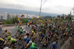 Así fue la cuarta etapa de la Vuelta a Colombia, que pasó por Bucaramanga