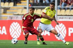 Las mejores jugadas entre Colombia y Venezuela