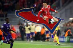 Los memes más graciosos de James Rodríguez 'volando' en el Bayern Munich