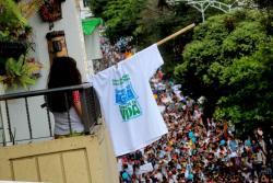 Imágenes de la marcha por el Agua de Santurbán