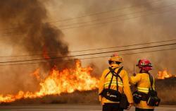 Vea las impactantes imágenes que dejó incendio en California