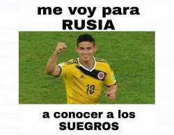 Colombia clasificó a Rusia y no podían faltar los memes