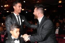 Las imágenes que dejaron los premios 'The Best' de la Fifa