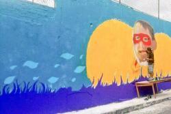 A través de murales se empiezan a transformar sectores de Bucaramanga