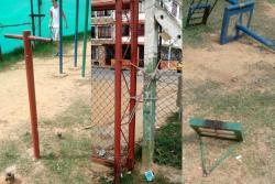 Este parque de Bucaramanga está y 'seguirá' en abandono
