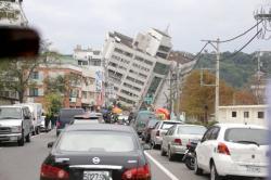 Las dramáticas imágenes del terremoto en Taiwán