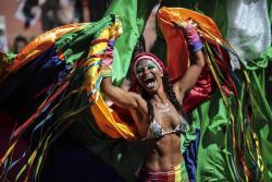 Comenzó el carnaval de Río de Janeiro con el nuevo Rey Momo
